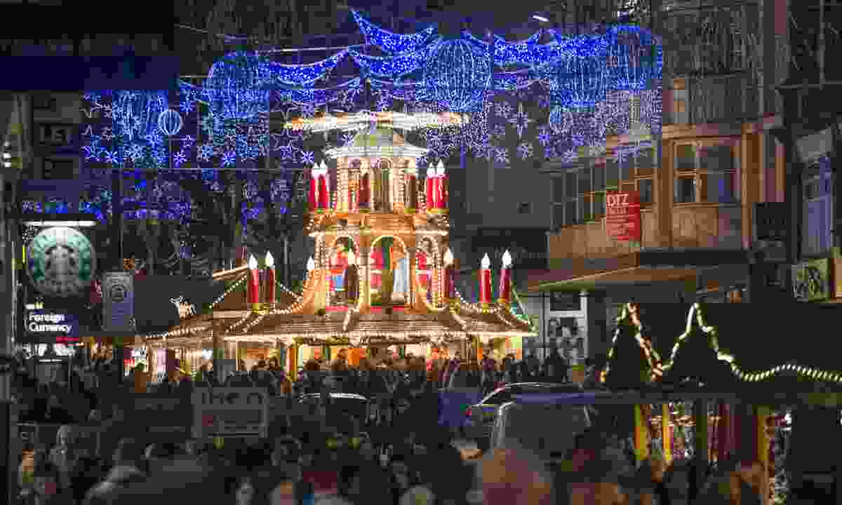 Birmingham Christmas market (VisitFrankfurt, Andreas Arnold)