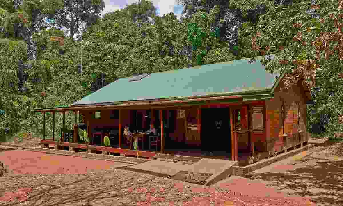 The modest but comfortable Budongo Eco Lodge (Emma Gregg)