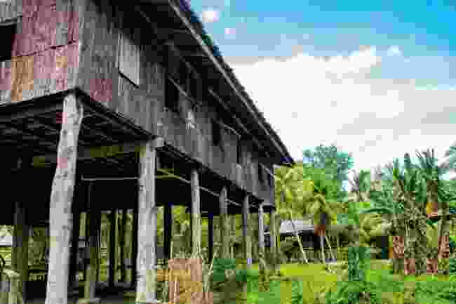 Life in the longhouse Staying in the traditional homes of the Iban people provides an insight into Sarawak lives (Shutterstock)