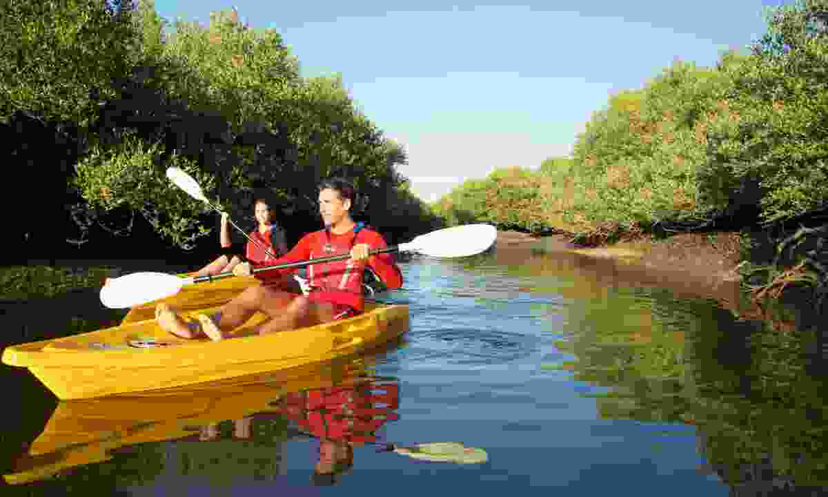 Choose from a wide variety of water sports (Ras Al Khaimah Tourist Board)