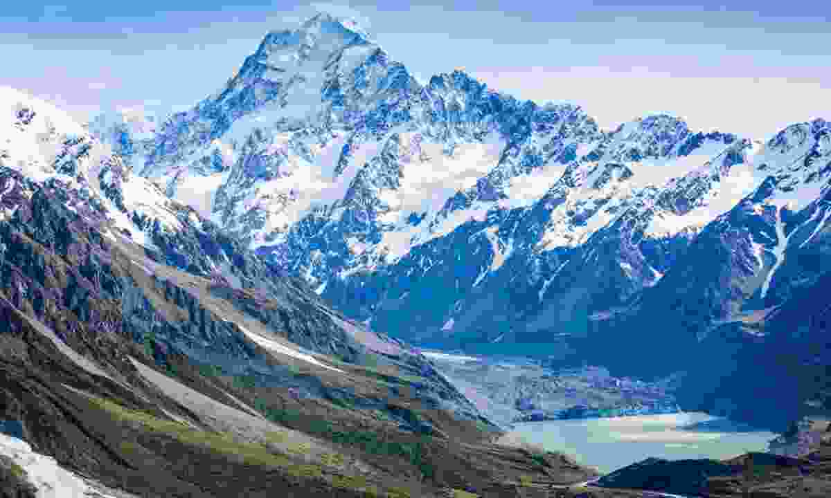Mount Cook, New Zealand (Shutterstock)