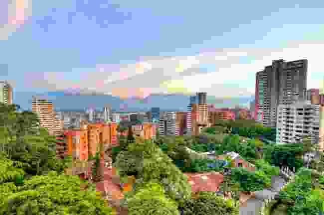 A view of Medellín from above (Shutterstock)