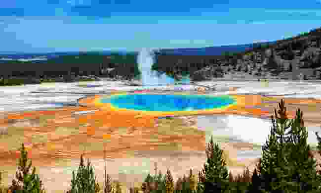 The iconic Yellowstone National Park is well worth a visit (Shutterstock)