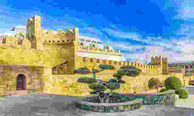 The walled city of Baku (Shutterstock)