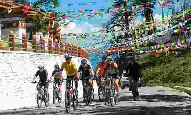 Bike in Bhutan (SpiceRoads)