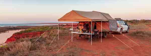 Camping near the Dampier Peninsula (Shutterstock)