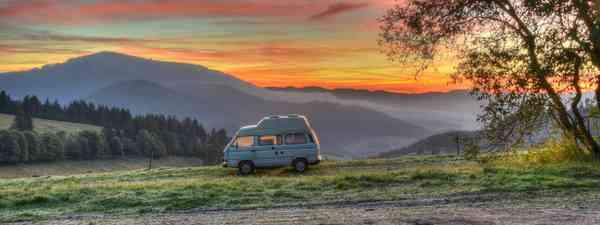 Campervanning (Dreamstime)