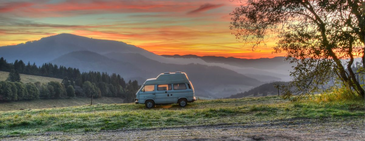 Travelling the world in a camper van