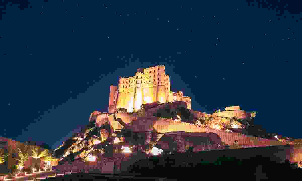 Your hotel, the Alila Fort Bishangarh (Alila Hotels and Resorts)
