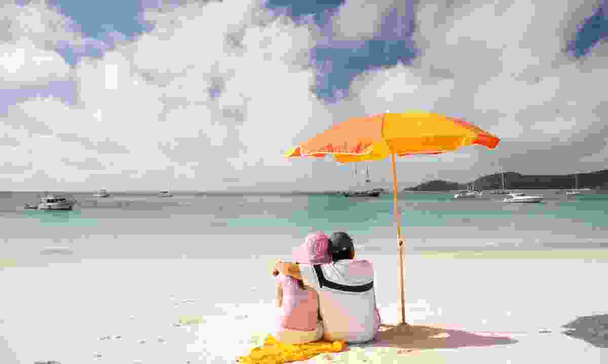 Whitehaven Beach in the Whitsundays (Dreamstime)