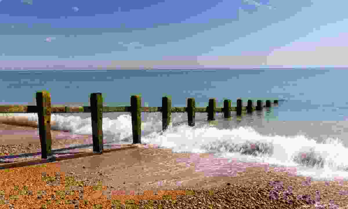 The groin at Pevensey Bay (Dreamstime)