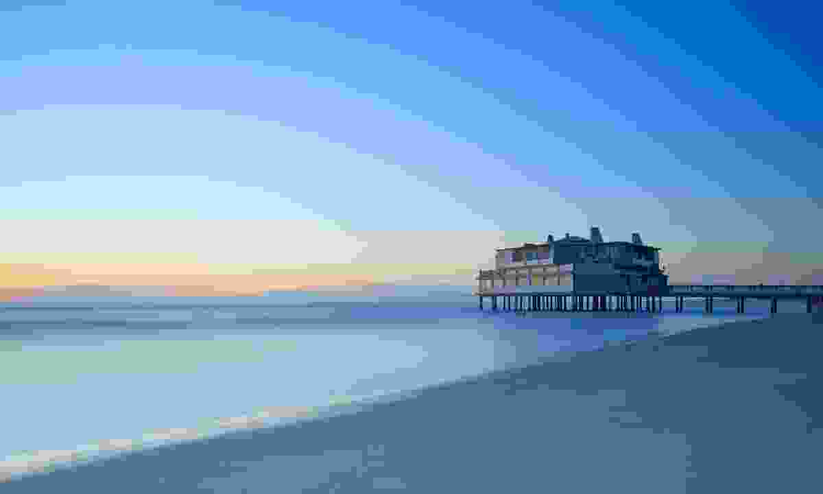The pier on Follonica Beach (Dreamstime)