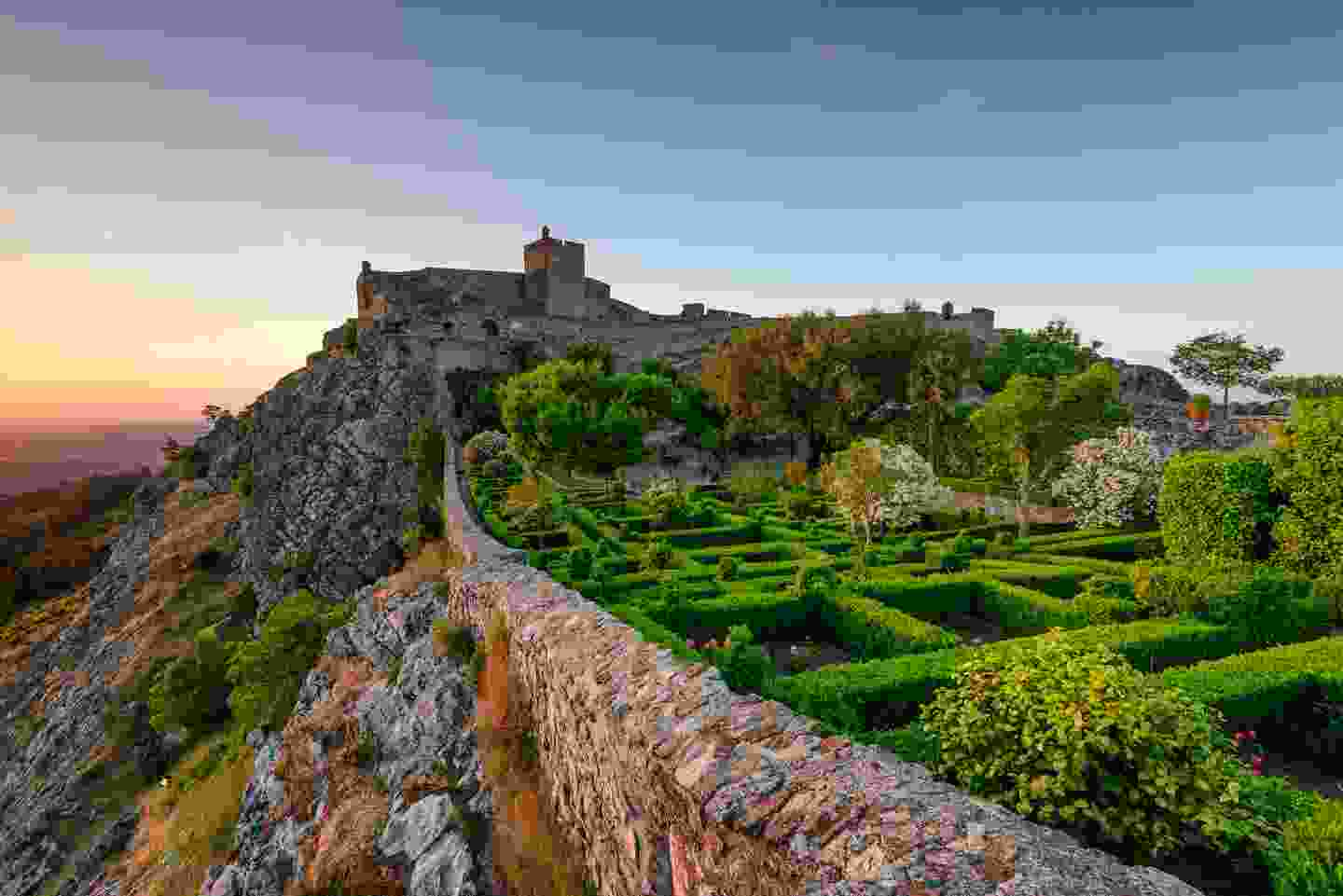 Sunset at Castle Marvao, a small village in the Alentejo (Shutterstock)