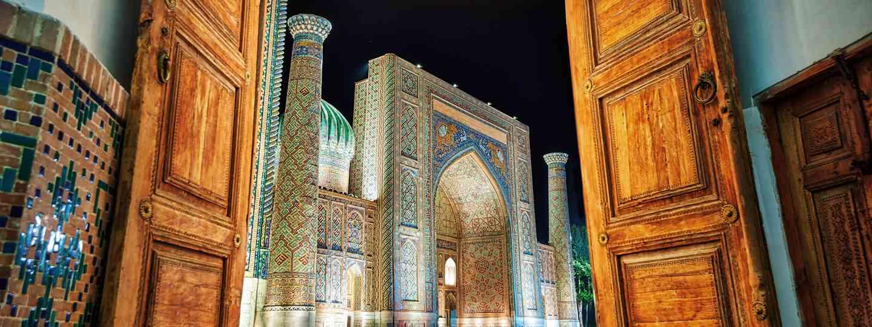 Samarkand at night (Shutterstock)