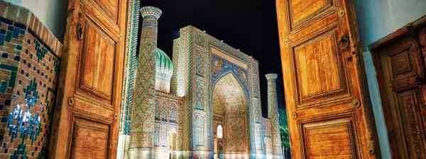 Samarkand at night (Shutterstock)