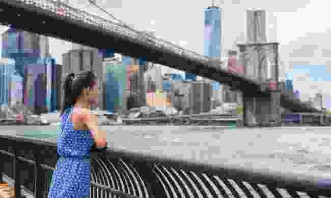 Alone in New York City (Dreamstime)