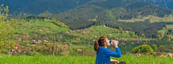 A healthy traveller (Dreamstime)