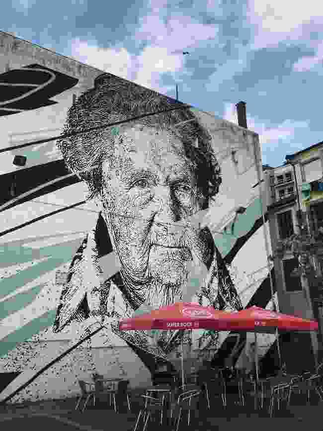 Daniel Eime's mural to the dictator's victims (Simon Chubb)