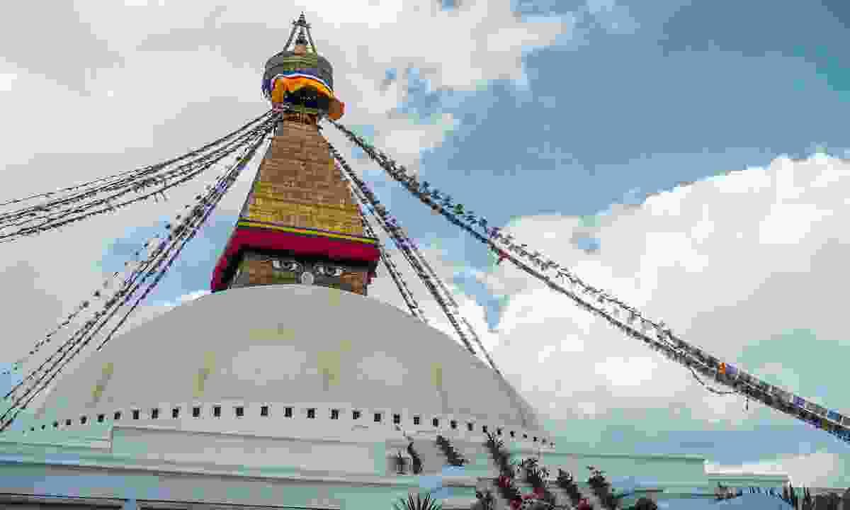 Boudhanath Stuppa in Kathmandu, Nepal (G Adventures)