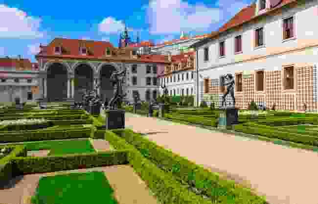 Gardens near Prague Castle (Shutterstock)