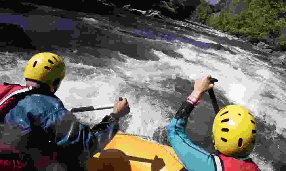 Rafting in Noguera Pallaresa (Oriol Clavera)