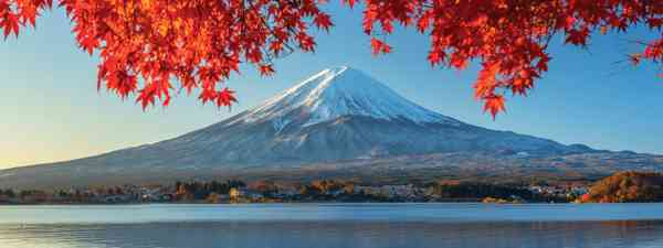 Reflecting on Japan: Mount Fuji undulates  on the surface of  Lake Kawaguchi (AWL)