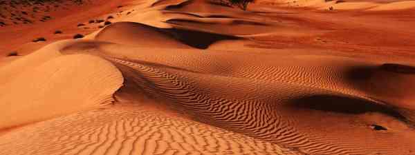 Oman's desert is one of top secret trip picks (Shutterstock)
