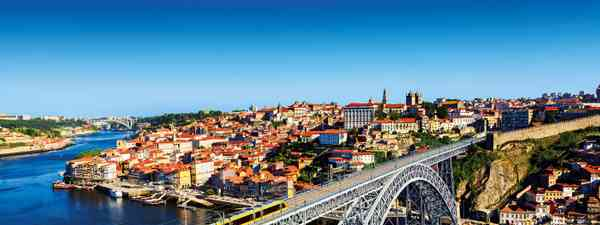 Porto tumbles down hillsides towards the Douro River (Shutterstock)