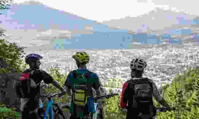 There are plenty of scenic bike trails to find across Innsbruck (Tirol Werbung, Neusser Peter)