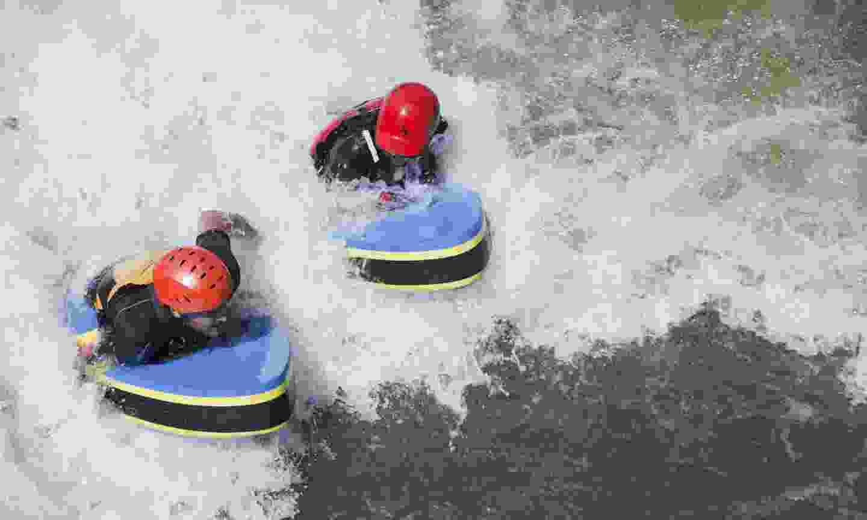 Hydrospeeding in Alt Urgell (Oriol Clavera)