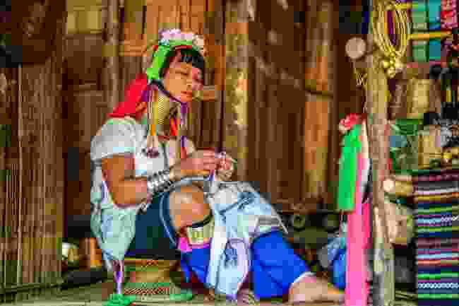 A woman from the Padaung tribe (Shutterstock)