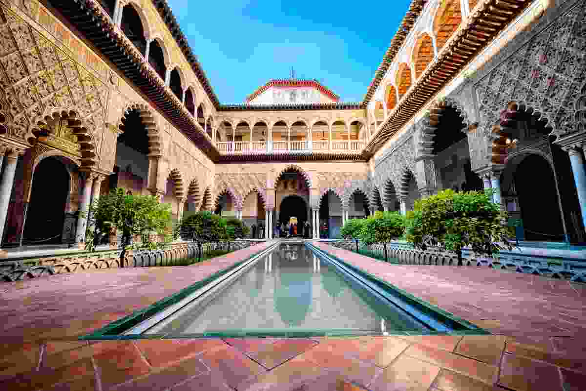 The Real Alcázar Palace in Seville (Dreamstime)