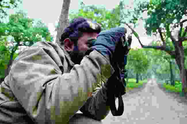 Amith Bangre in Kishanpur Tiger Sancutary (Mark Stratton)