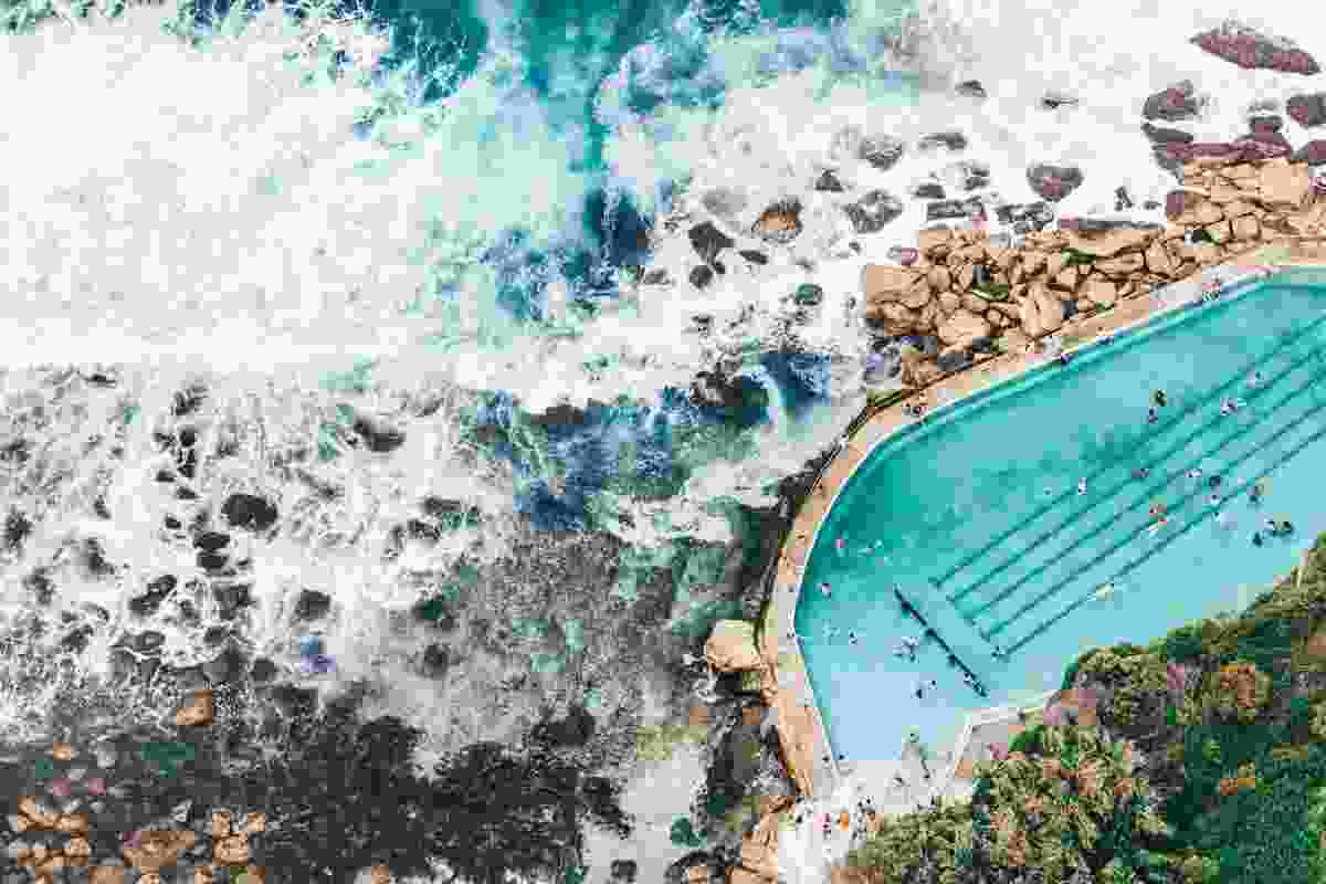 Bronte Pools, Sydney, Australia (Gray Malin)