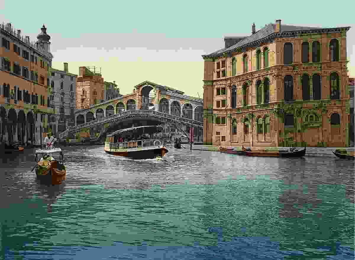 The Grand Canal and the Rialto Bridge in Venice (Marc Walter Collection, Paris)