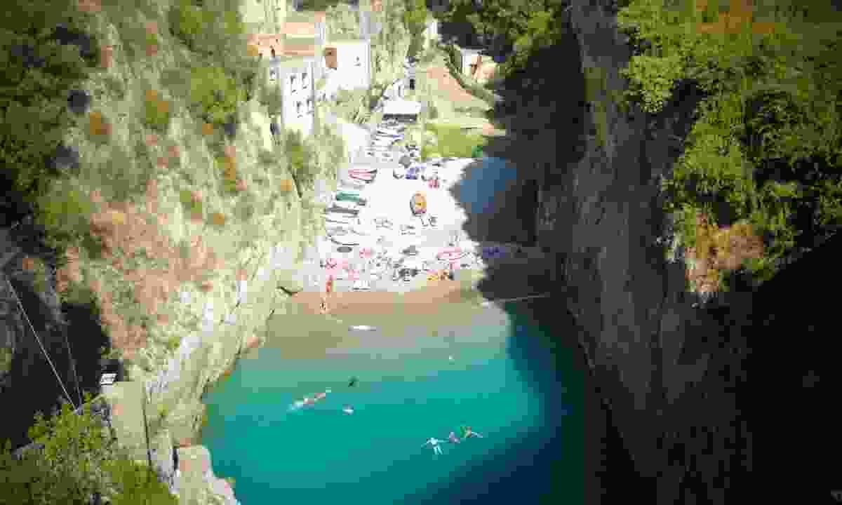 Furore, on the Amalfi coast  (Dreamstime)