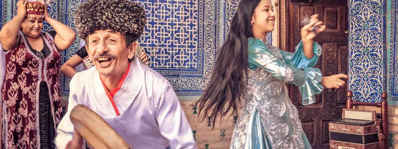 Dancing in Khiva (Dreamstime)