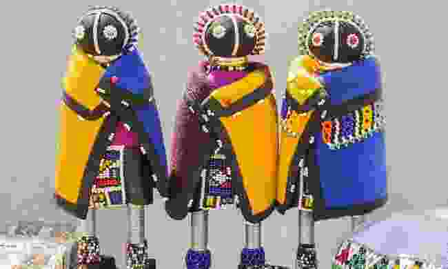 Traditional Xhosa dolls (Shutterstock)