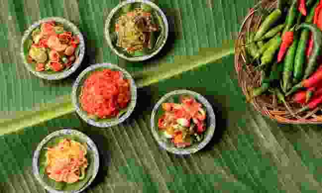 Aneka Sambal - Indonesian spicy condiments (Shutterstock)