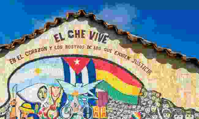 A mural in Vallagrande (Dreamstime)