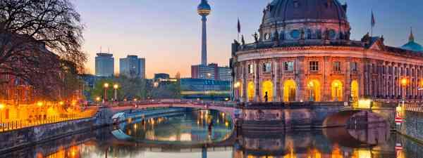 Berlin cityscape. (Dreamstime)