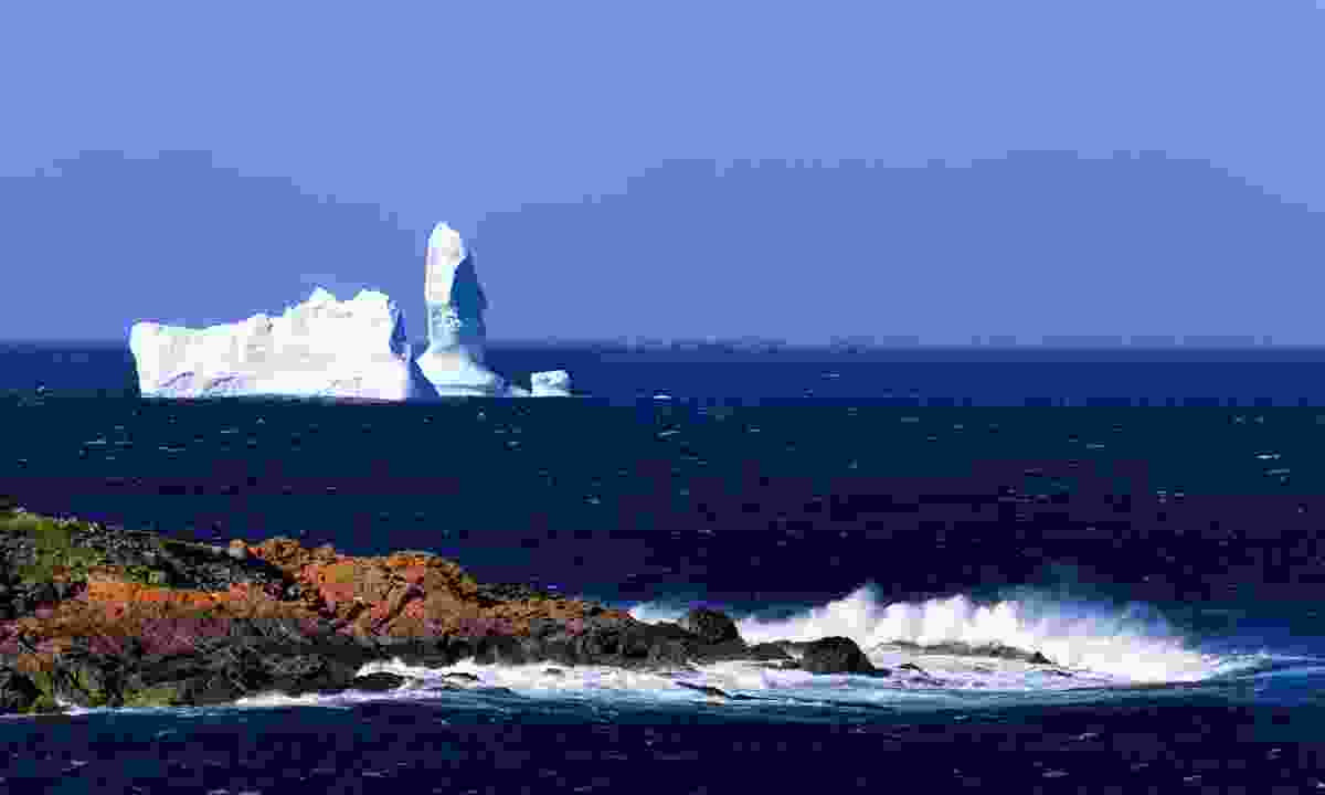 An iceberg floating past St Anthony, Newfoundland (Dreamstime)