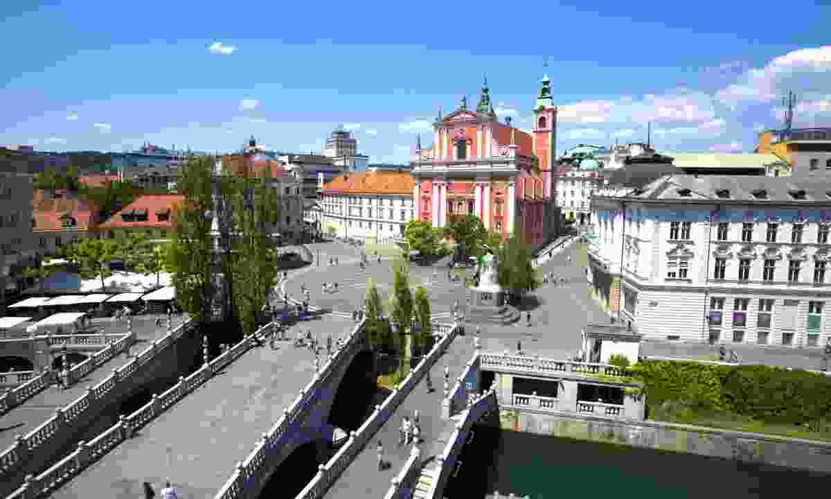 Triple Bridge (Slovenian Tourist Board)
