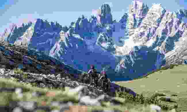 Try an e-bike if you want help tackling those tougher slopes (Drei Zinnen Marketing/ Markus Greber)