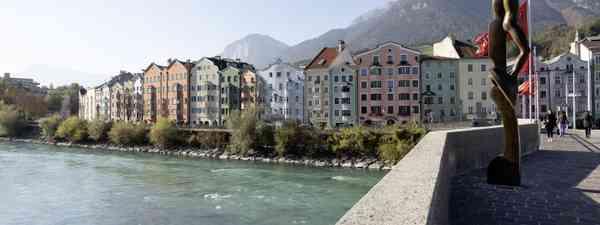 Mariahilf neighbourhood in Innsbruck (Innsbruck Tourismus, Mario Webhofer)