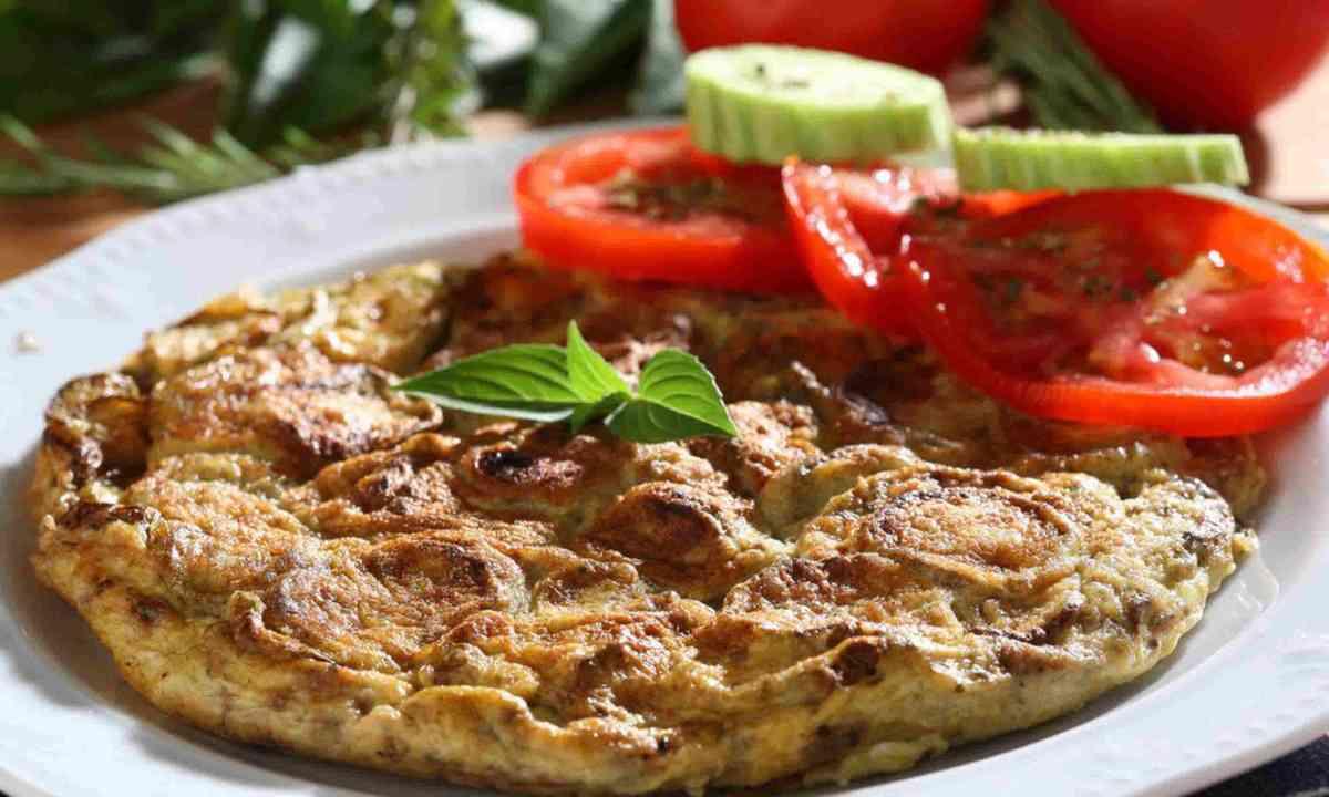 Greek omelette (Region of Crete)