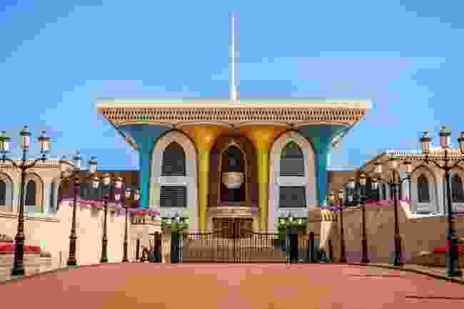 The eye-catching Al Alam Palace in Muscat, Oman (Shutterstock)