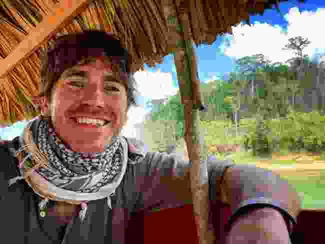 On Usumacinta River between Mexico and Guatemala (BBC/Jonathan Young)