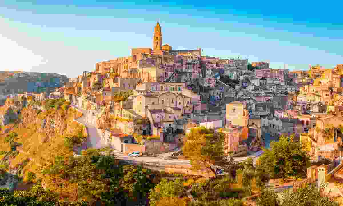 From shame to fame: The old town of Matera (Shutterstock)