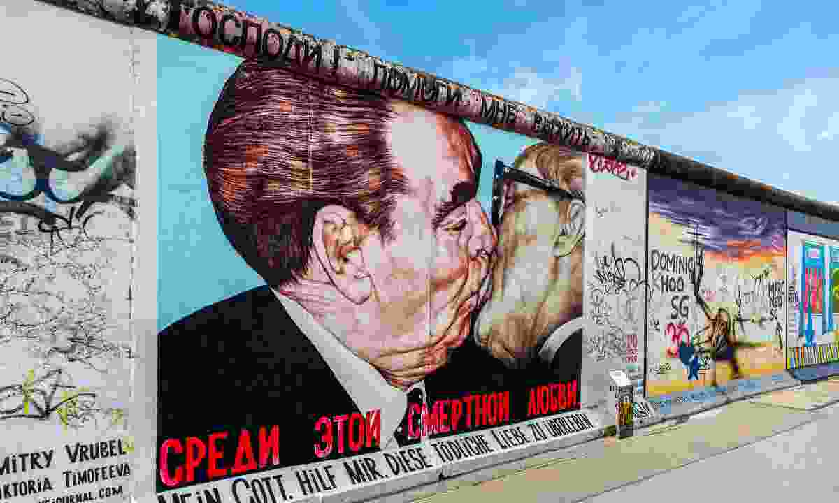 Feel the force of our forebears by cycling along the remains of the Berlin Wall (Shutterstock)